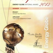 Energy Globe National Award2013